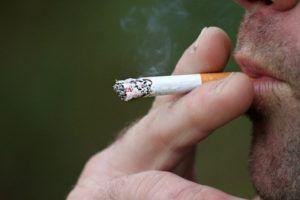 Du er ikke ryger. Du er en der ryger